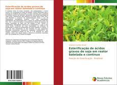 Обложка Esterificação de ácidos graxos de soja em reator batelada e contínuo