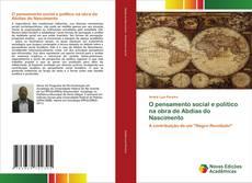 Capa do livro de O pensamento social e político na obra de Abdias do Nascimento