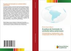 A justiça de transição no contexto latino-americano kitap kapağı