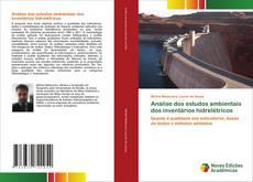 Bookcover of Análise dos estudos ambientais dos inventários hidrelétricos