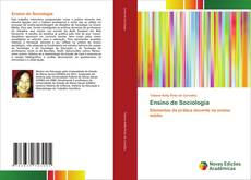 Bookcover of Ensino de Sociologia