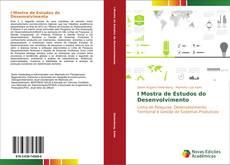 Capa do livro de I Mostra de Estudos do Desenvolvimento