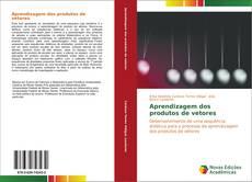 Capa do livro de Aprendizagem dos produtos de vetores