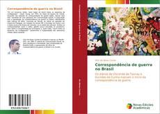 Portada del libro de Correspondência de guerra no Brasil