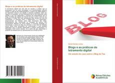 Buchcover von Blogs e as práticas de letramento digital