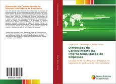 Обложка Dimensões do Conhecimento na Internacionalização de Empresas
