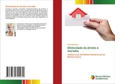 Capa do livro de Efetividade do direito à moradia