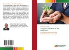 Обложка A importância do ICMS ecológico