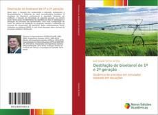 Capa do livro de Destilação do bioetanol de 1ª e 2ª geração