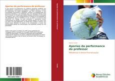 Capa do livro de Aporias da performance do professor