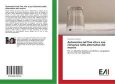 Capa do livro de Autonomia nel fine vita e sua rilevanza nelle alternative del morire