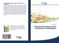 Profesionālā izdegšana skolu direktoriem un skolotājiem kitap kapağı