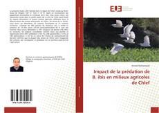 Impact de la prédation de B. ibis en milieux agricoles de Chlef kitap kapağı