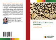 Buchcover von Políticas de ação afirmativa na universidade