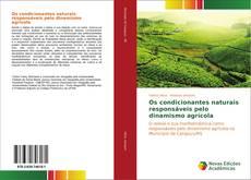 Bookcover of Os condicionantes naturais responsáveis pelo dinamismo agrícola