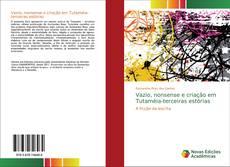 Bookcover of Vazio, nonsense e criação em Tutaméia-terceiras estórias