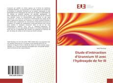 Couverture de Etude d'intéraction d'Urannium VI avec l'hydroxyde de fer III