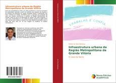 Capa do livro de Infraestrutura urbana da Região Metropolitana da Grande Vitória