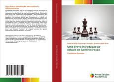 Capa do livro de Uma breve introdução ao estudo da Administração