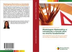 Capa do livro de Modelagem Matemática e introdução a função afim no ensino fundamental
