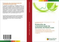 Portada del libro de Protocolos de crioconservação de sementes de Romã e Juá