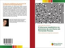 Capa do livro de O discurso mediúnico no processo de escritura em Fernando Pessoa
