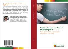 Bookcover of Escrita de seis surdos em língua inglesa