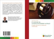 Capa do livro de O controle da constitucionalidade no Brasil