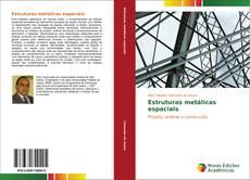 Capa do livro de Estruturas metálicas espaciais