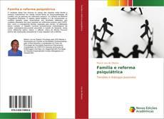 Capa do livro de Família e reforma psiquiátrica