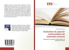 Evaluation du pouvoir antimicrobien de Calendula arvensis的封面