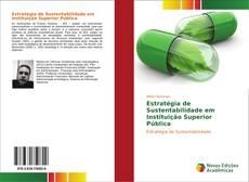Capa do livro de Estratégia de Sustentabilidade em Instituição Superior Pública