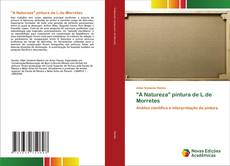 "Capa do livro de ""A Natureza"" pintura de L.de Morretes"