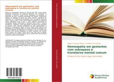 Copertina di Homeopatia em gestantes com sobrepeso e transtorno mental comum