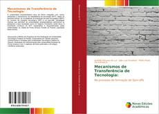 Portada del libro de Mecanismos de Transferência de Tecnologia: