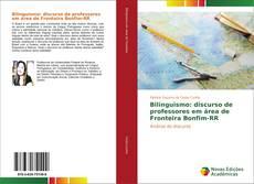Capa do livro de Bilinguismo: discurso de professores em área de Fronteira Bonfim-RR