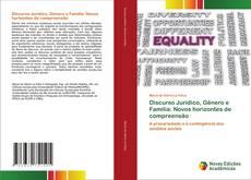 Обложка Discurso Jurídico, Gênero e Família: Novos horizontes de compreensão