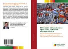 Capa do livro de Simulação computacional aplicada à indústria automobilística