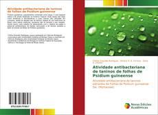 Capa do livro de Atividade antibacteriana de taninos de folhas de Psidium guineense