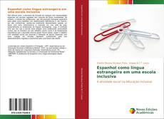 Capa do livro de Espanhol como língua estrangeira em uma escola inclusiva
