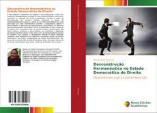 Capa do livro de Desconstrução Hermenêutica no Estado Democrático de Direito