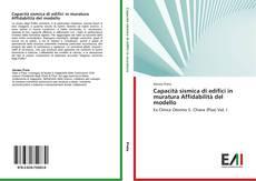 Buchcover von Capacità sismica di edifici in muratura Affidabilità del modello