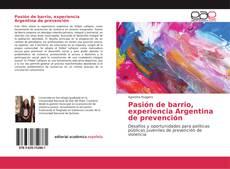 Обложка Pasión de barrio, experiencia Argentina de prevención