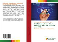 Capa do livro de Análise da adequação do Gespública em um setor de uma IFES