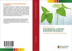 Capa do livro de Transgênicos e Direito Ambiental Econômico