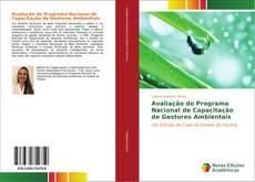 Capa do livro de Avaliação do Programa Nacional de Capacitação de Gestores Ambientais
