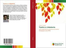 Capa do livro de Teatro e cidadania