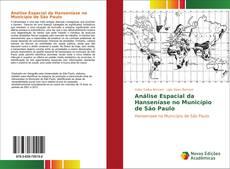 Capa do livro de Análise Espacial da Hanseníase no Município de São Paulo