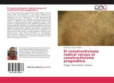 Capa do livro de El constructivismo radical versus el constructivismo pragmático