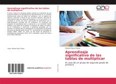 Capa do livro de Aprendizaje significativo de las tablas de multiplicar